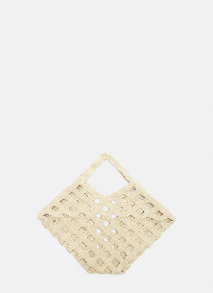 Crochet Grid Bag