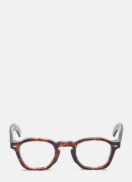 UNISEX ZEPHIRIN RX HAVANA TORTOISESHELL GLASSES IN BROWN