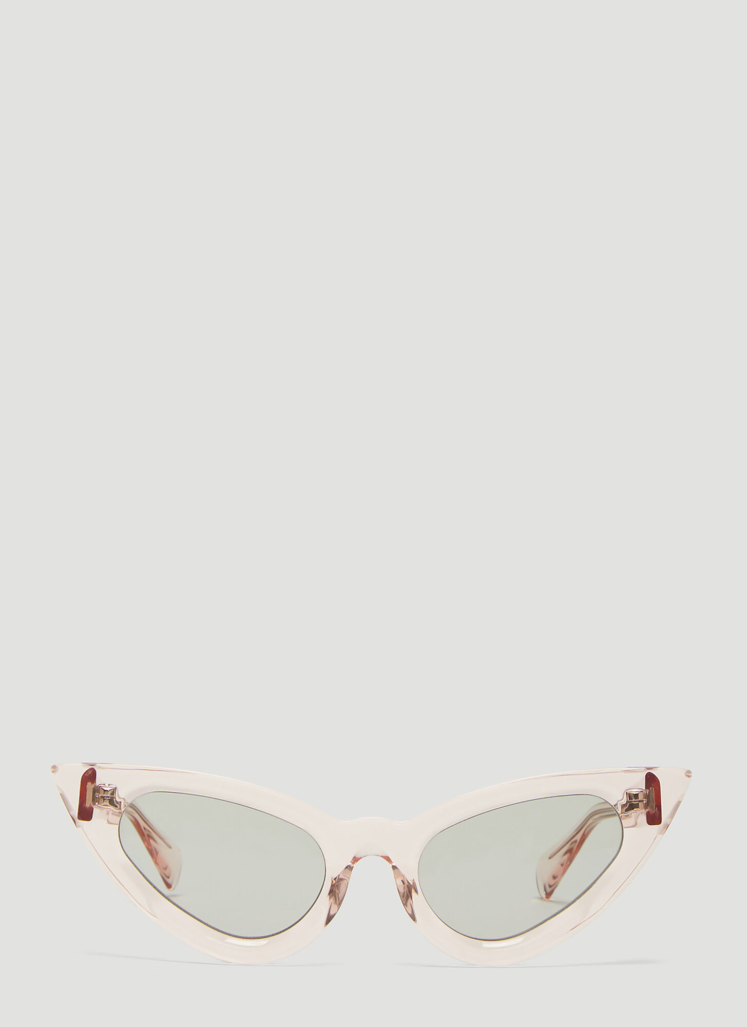 Kuboraum Mask Y3 Cat Eye Sunglasses in Pink
