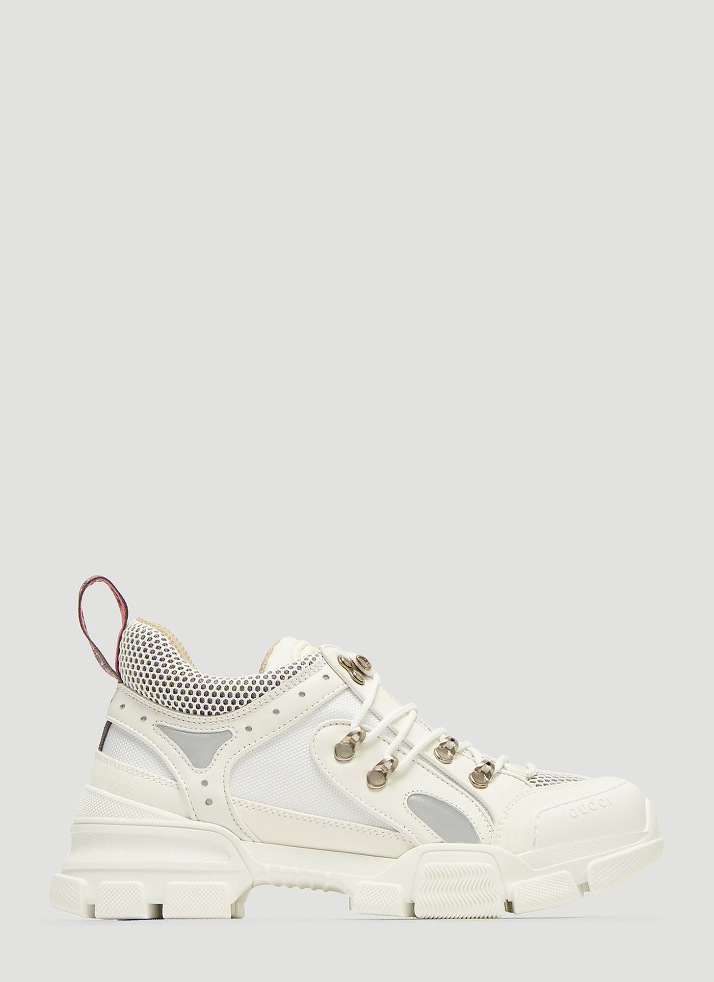 Gucci Flashtrek GG High-Top Sneaker in White