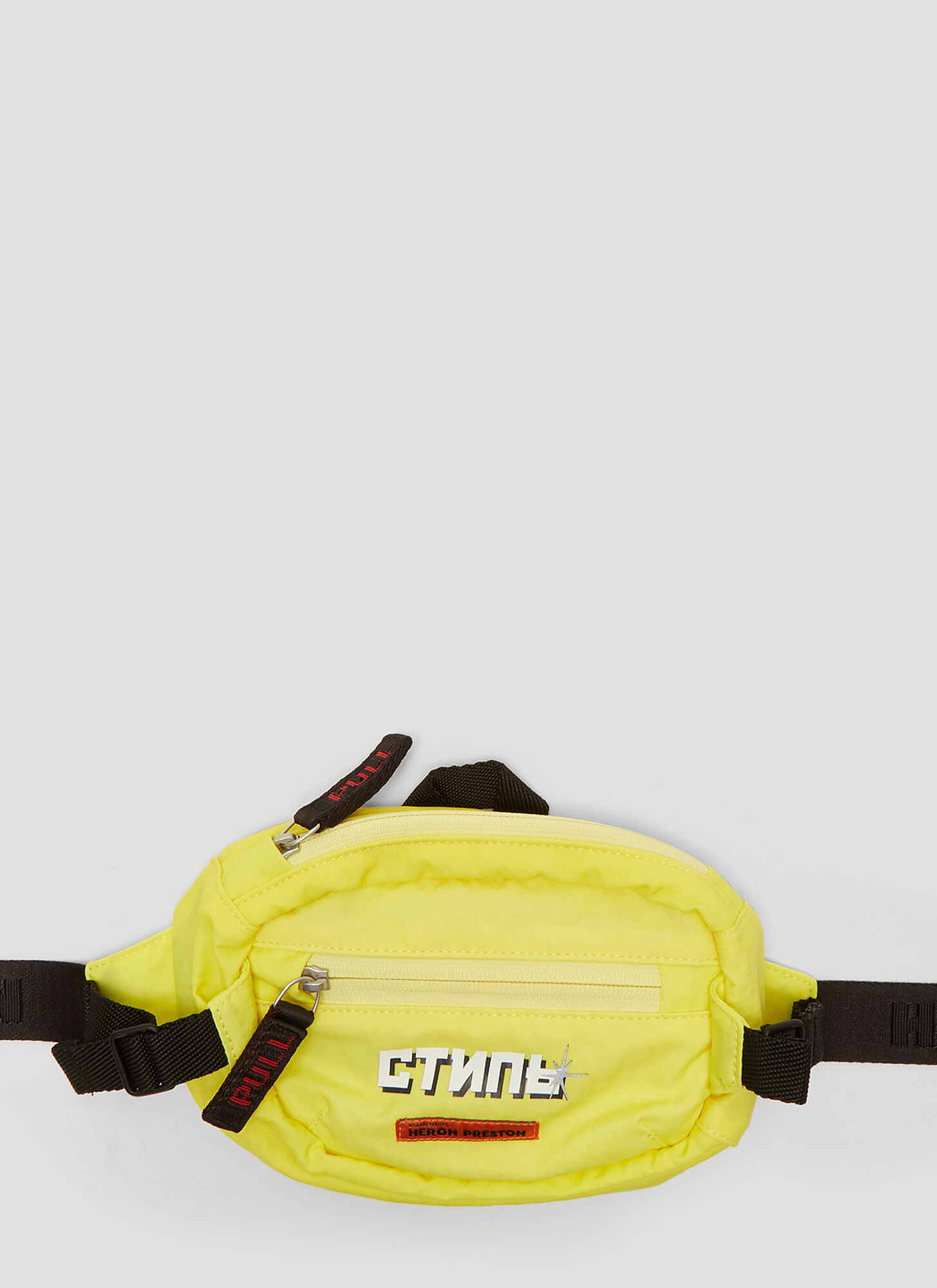 Heron Preston ????? Print Belt Bag in Yellow
