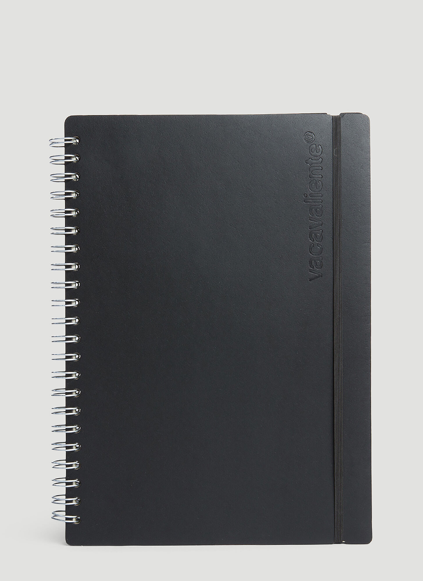 Vacavaliente A4 Ruled Notepad in Black