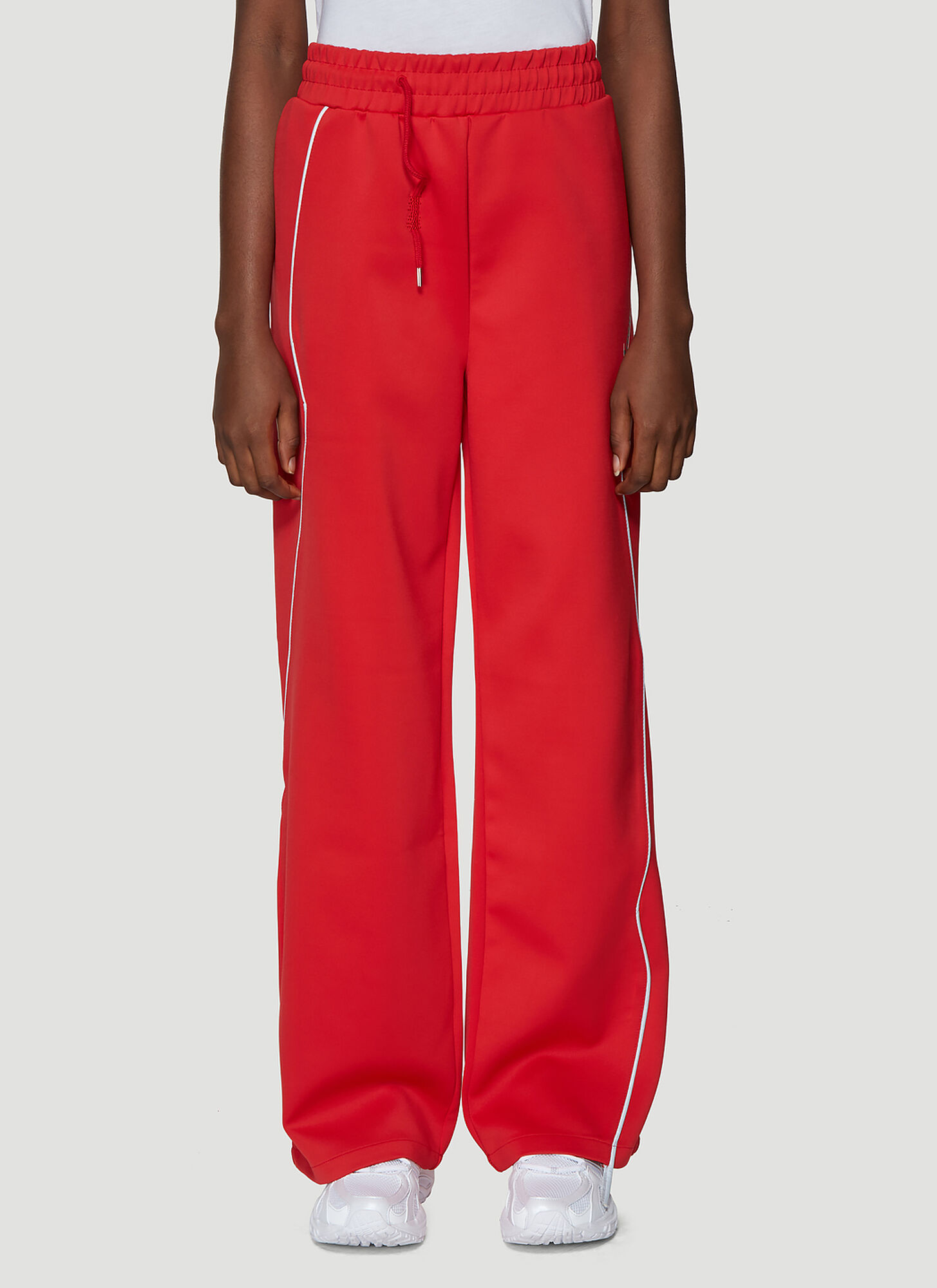 Ader Error Ade Track Pants in Red