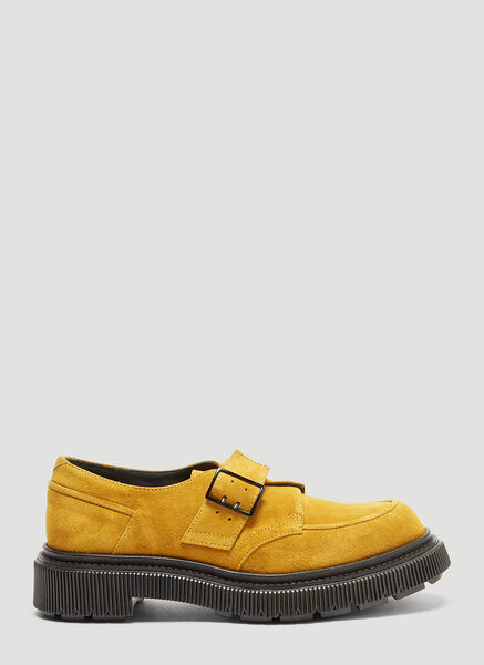 Adieu TYPE 119 SUEDE SHOES IN MUSTARD