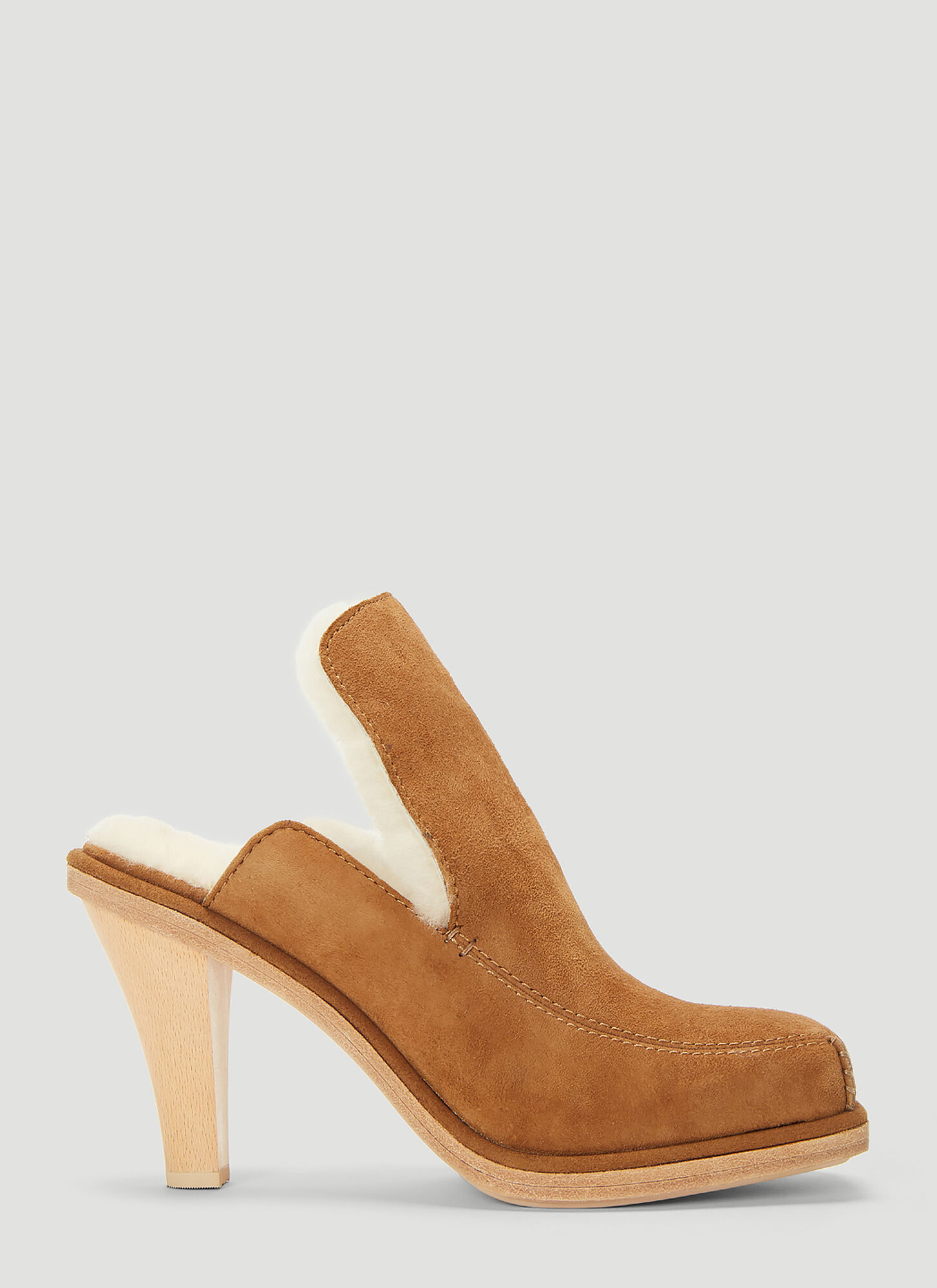 Eckhaus Latta X Ugg Court Mules in Brown