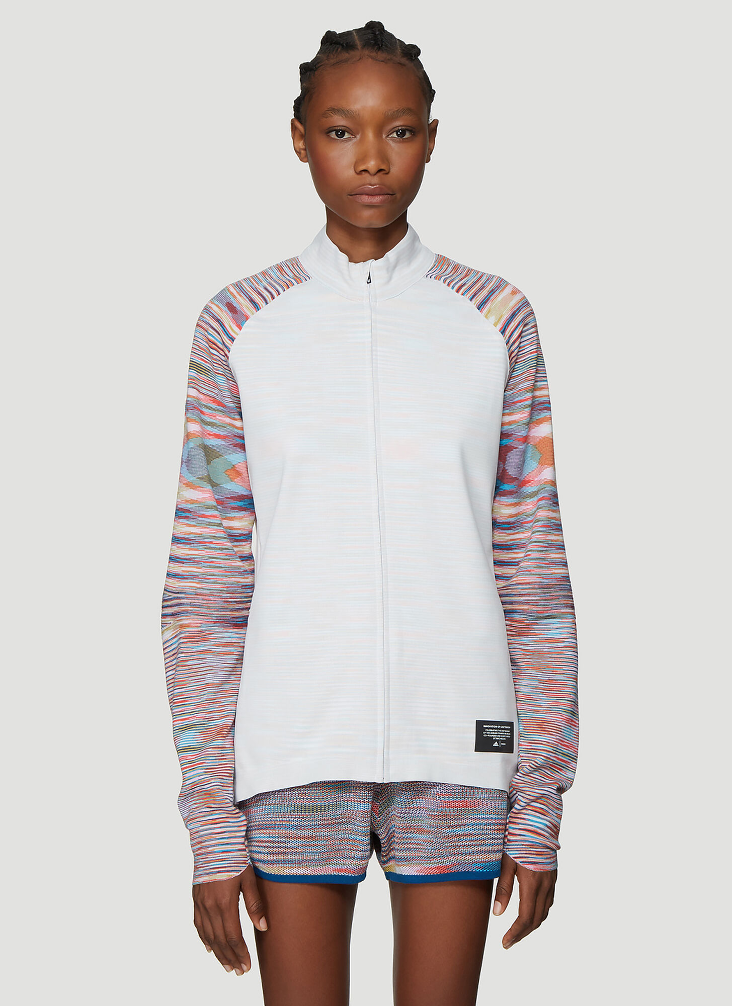 Adidas x Missoni X Missoni PHX Jacket in White