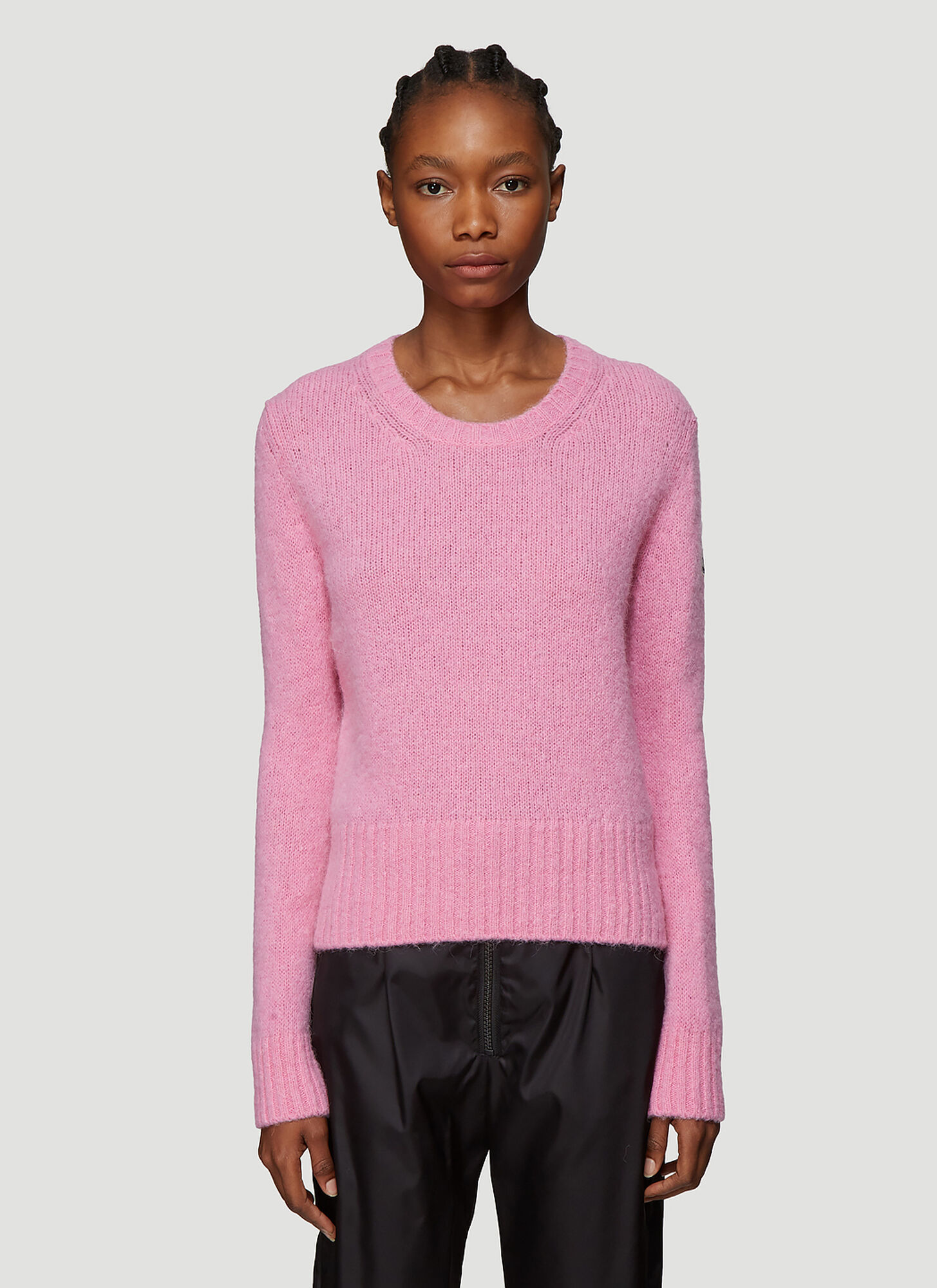 Moncler Maglione Tricot Sweater in Pink