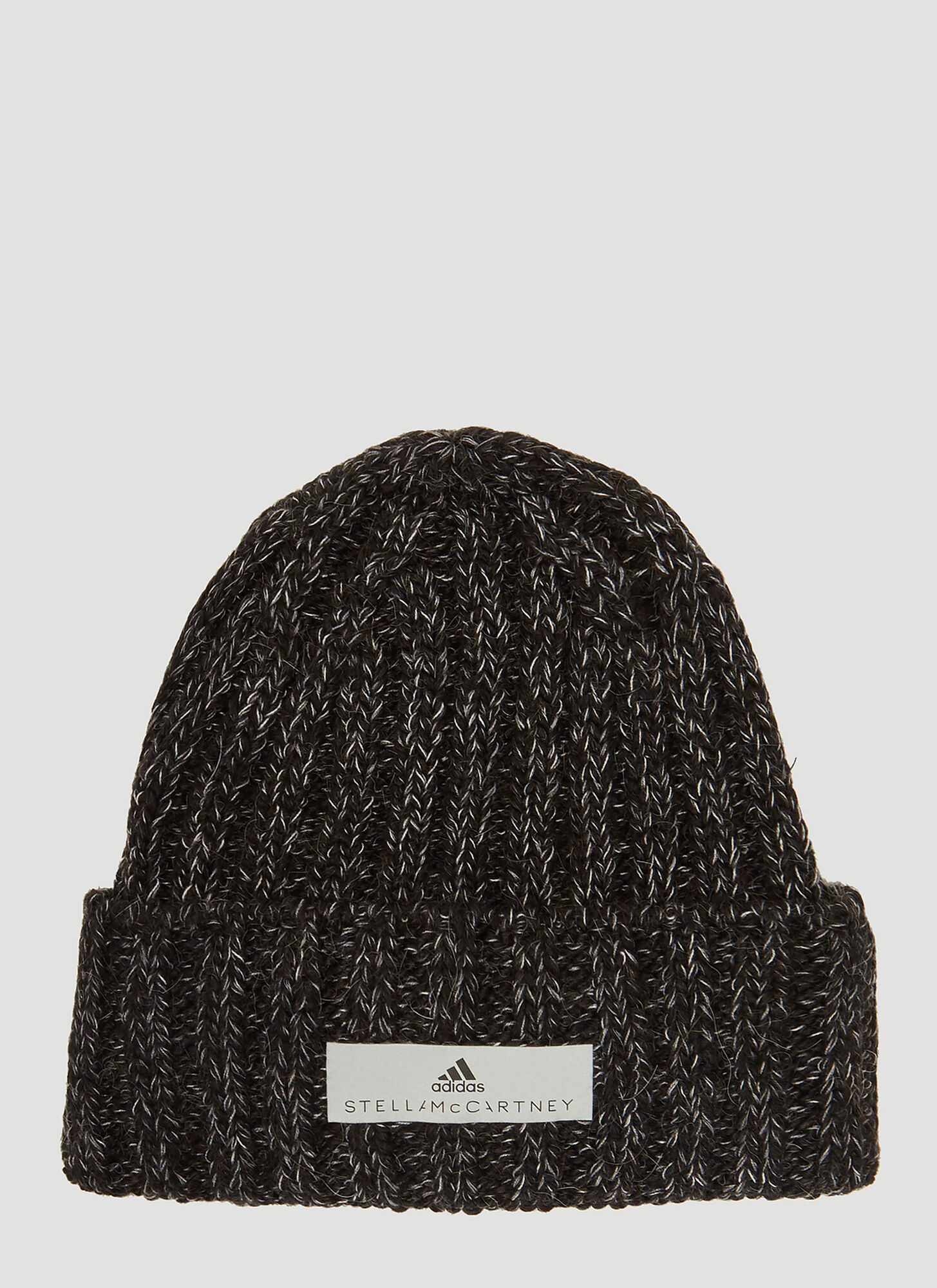 Adidas By Stella McCartney Cable Knit Beanie in Black