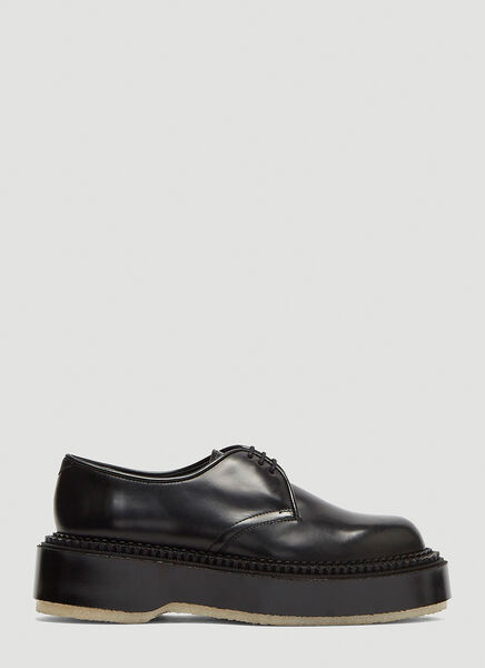X Undercover Chunky Sole Derby Shoes