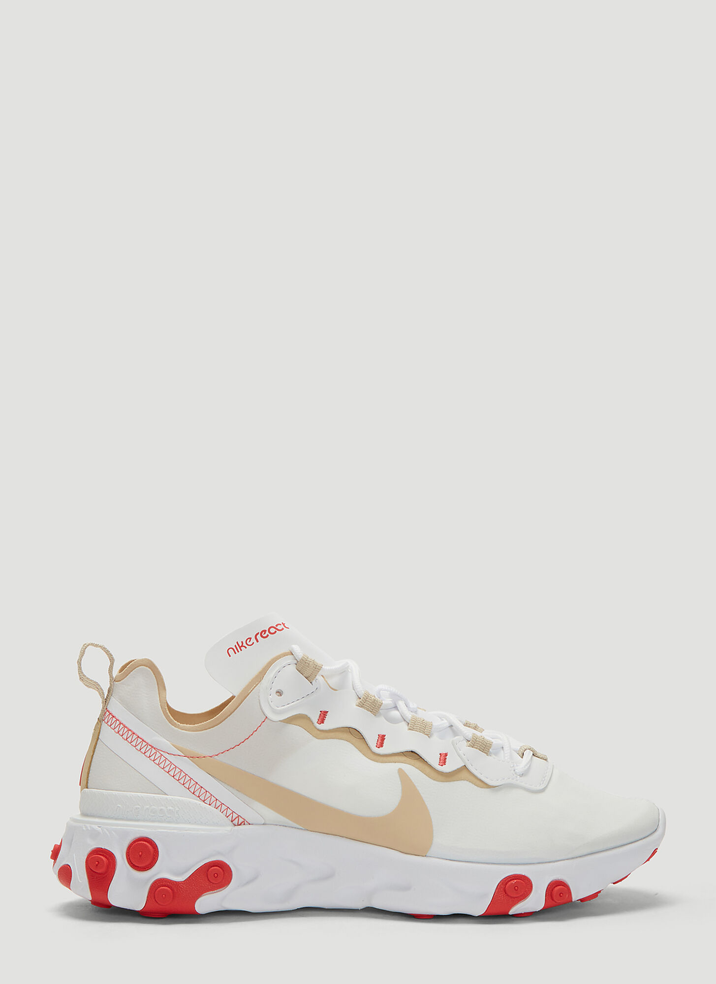 Photo of Nike React Element 55 Sneakers in White - Nike Sneakers