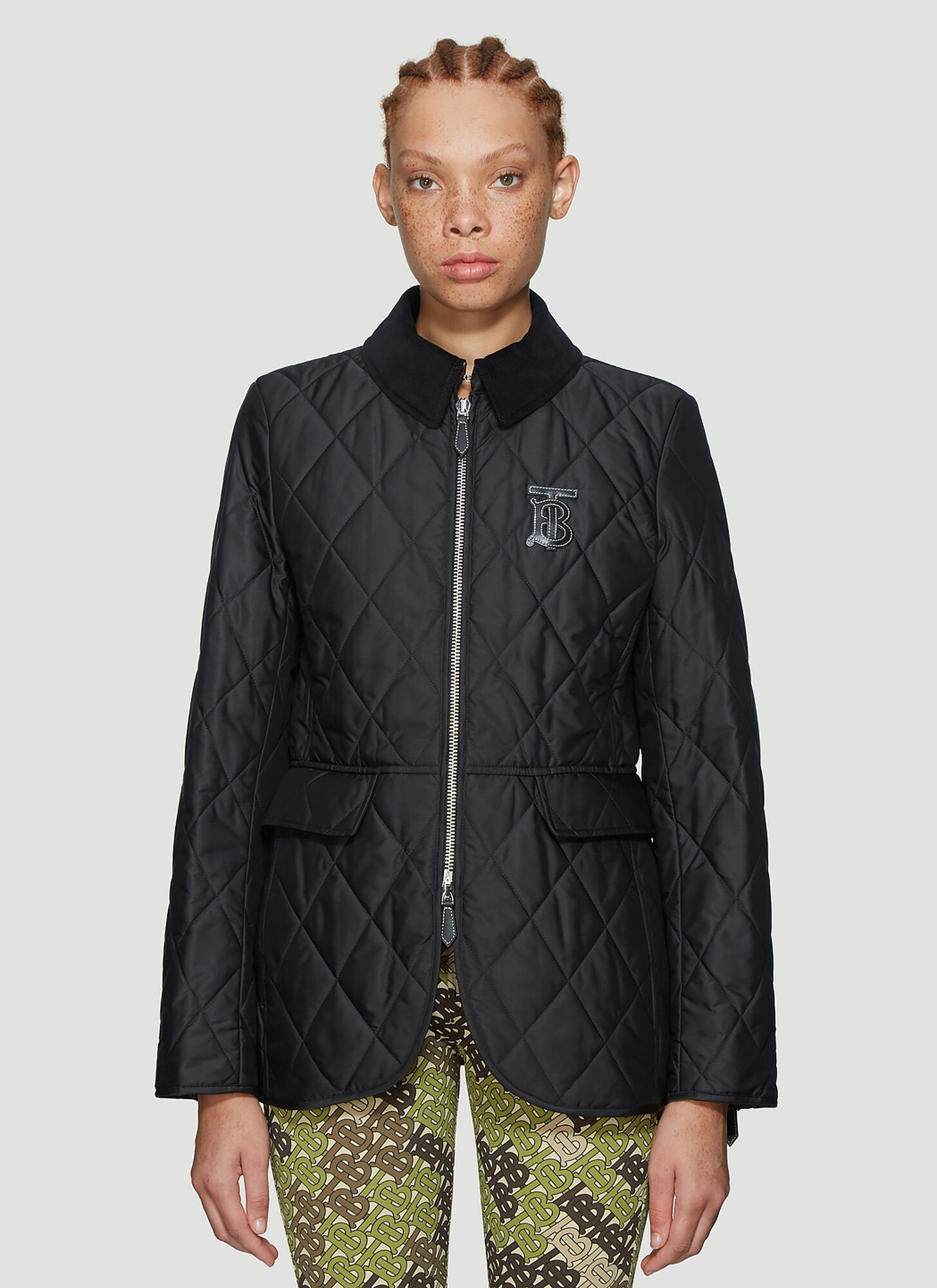 Burberry Ongar Quilted Jacket in Black