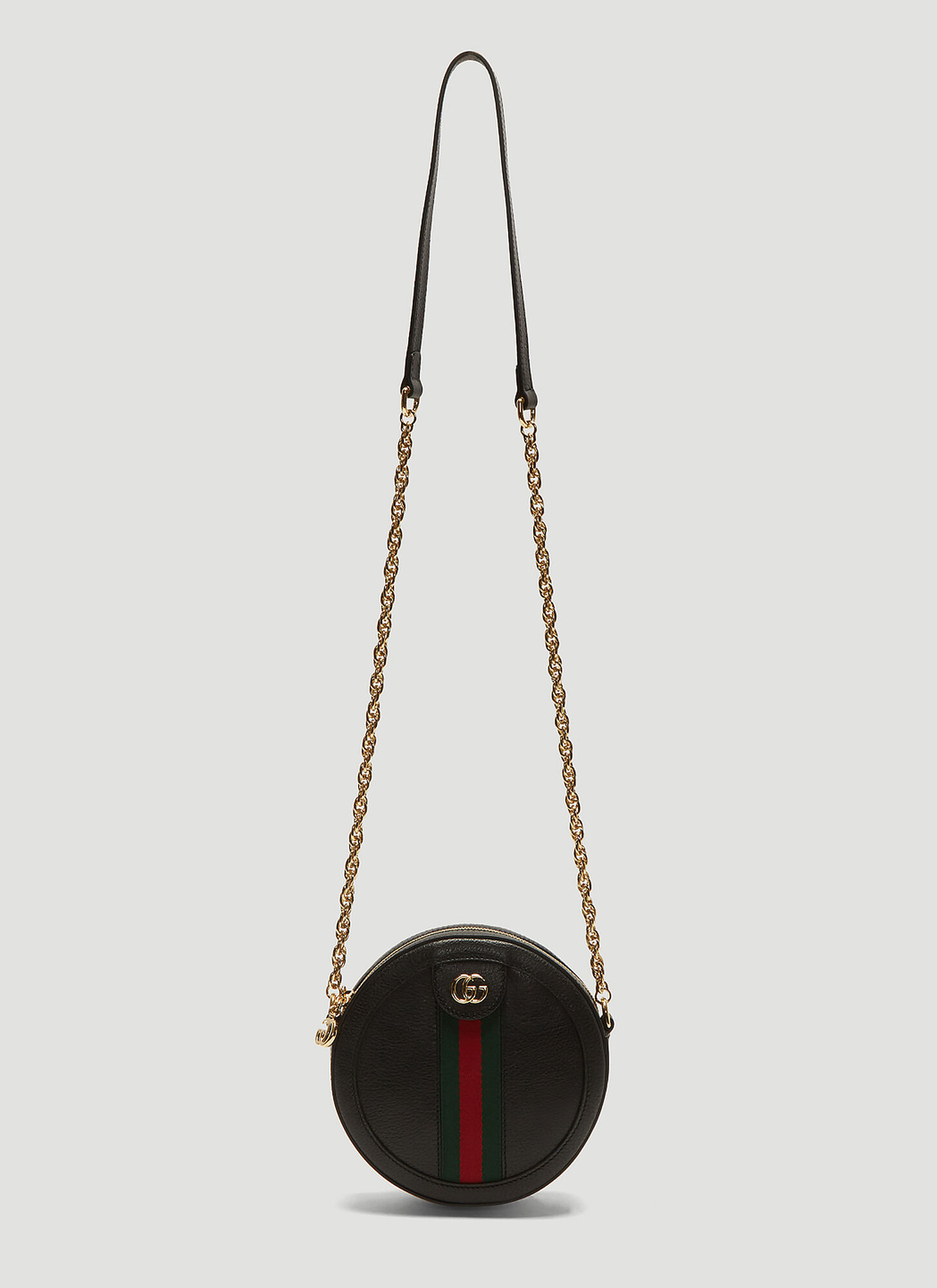 Photo of Gucci Ophidia Round Crossbody Bag in Black - Gucci Shoulder Bags