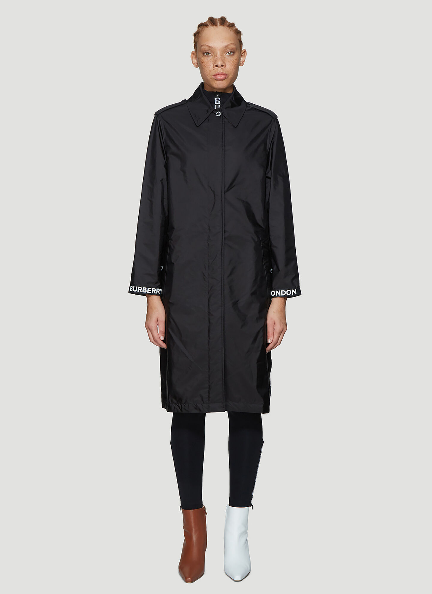 Burberry PadstowTrench Coat in Black