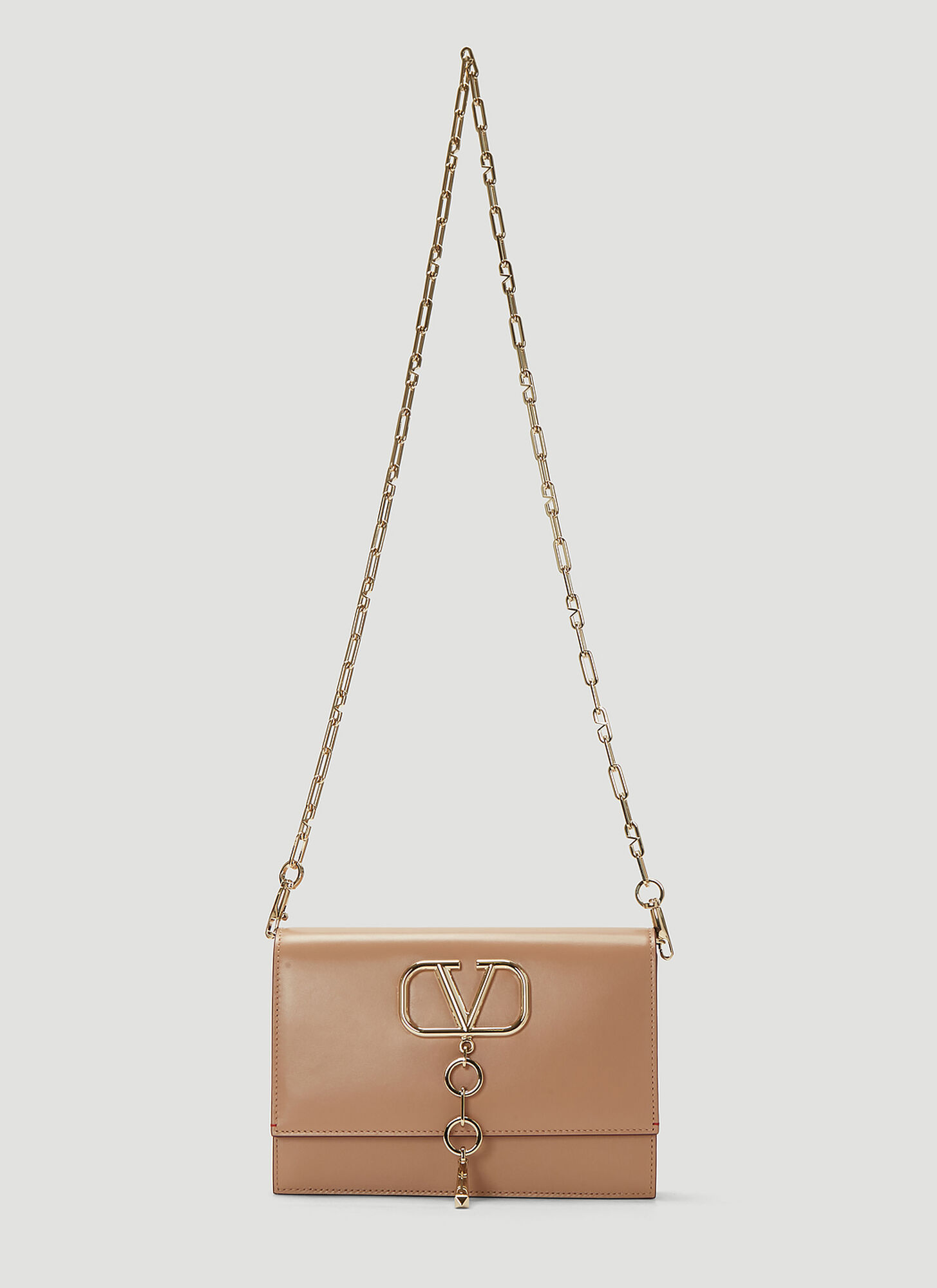 Valentino VLogo Chain Bag in Pink