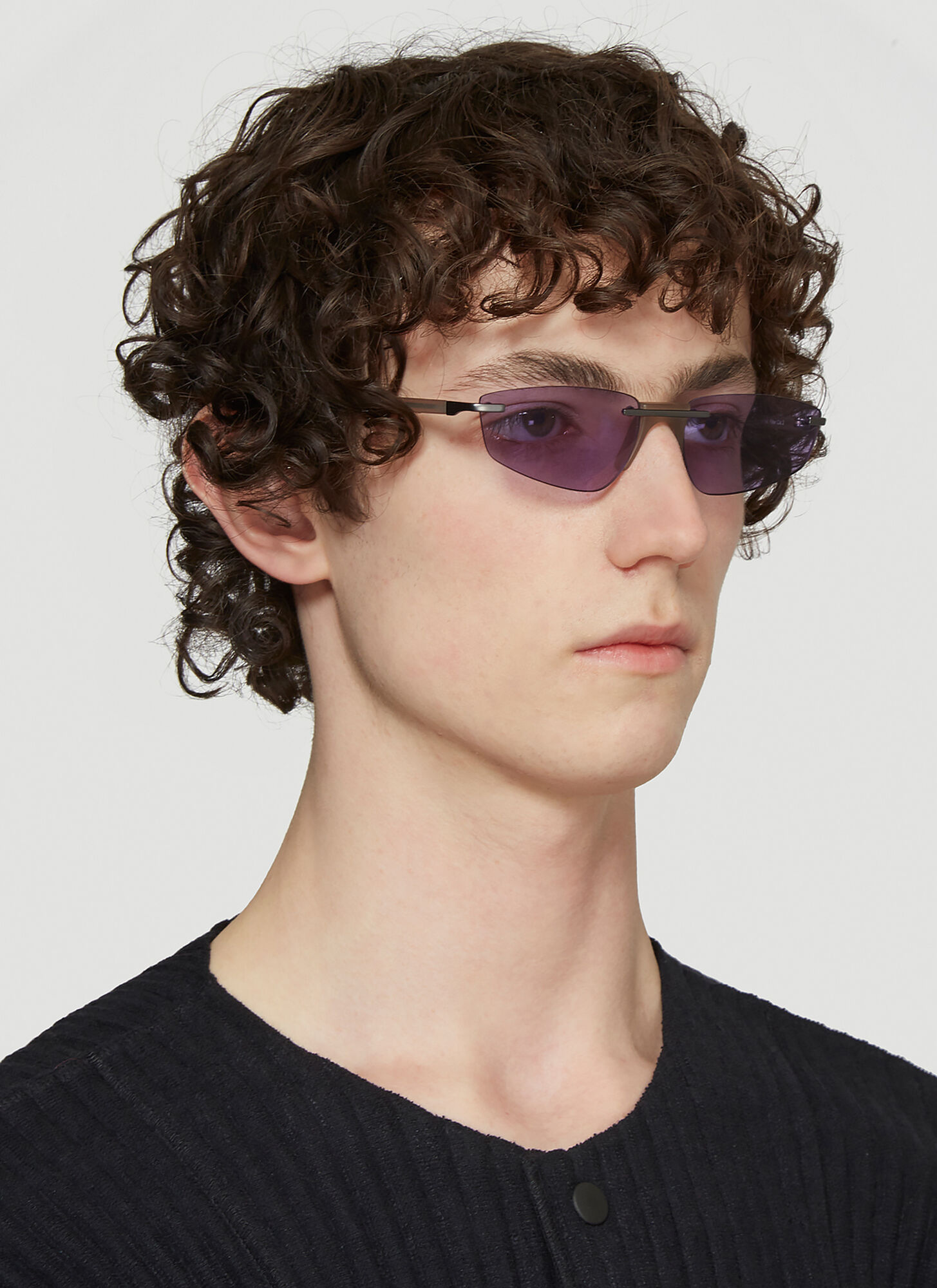 Andy Wolf Ophelia Sunglasses in Purple size One Size
