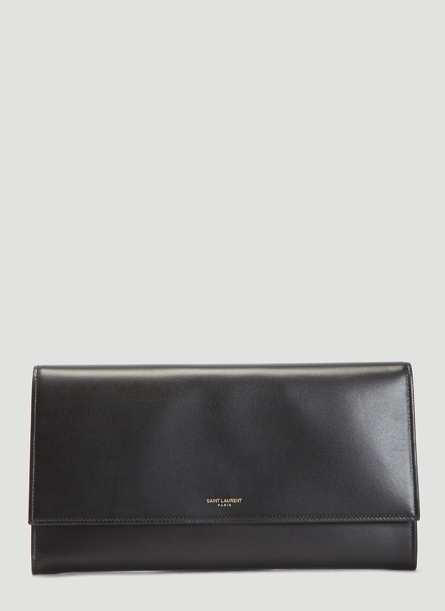 Saint Laurent Soho Wallet in Black size One Size