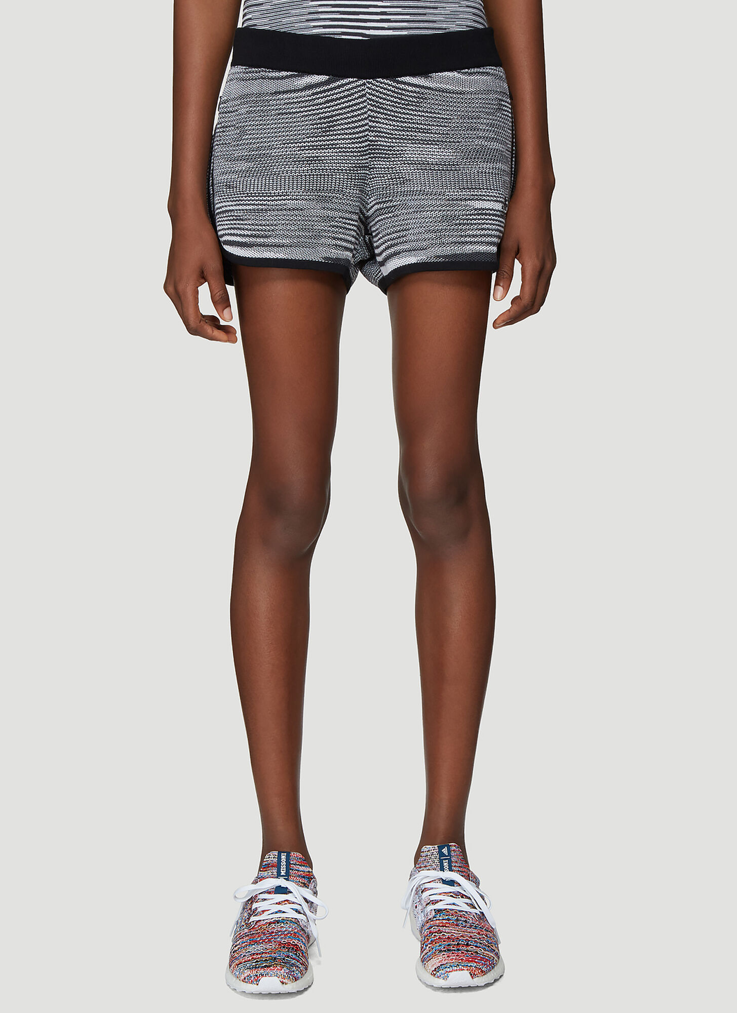 Adidas x Missoni X Missoni Marathon 20 Shorts in Grey