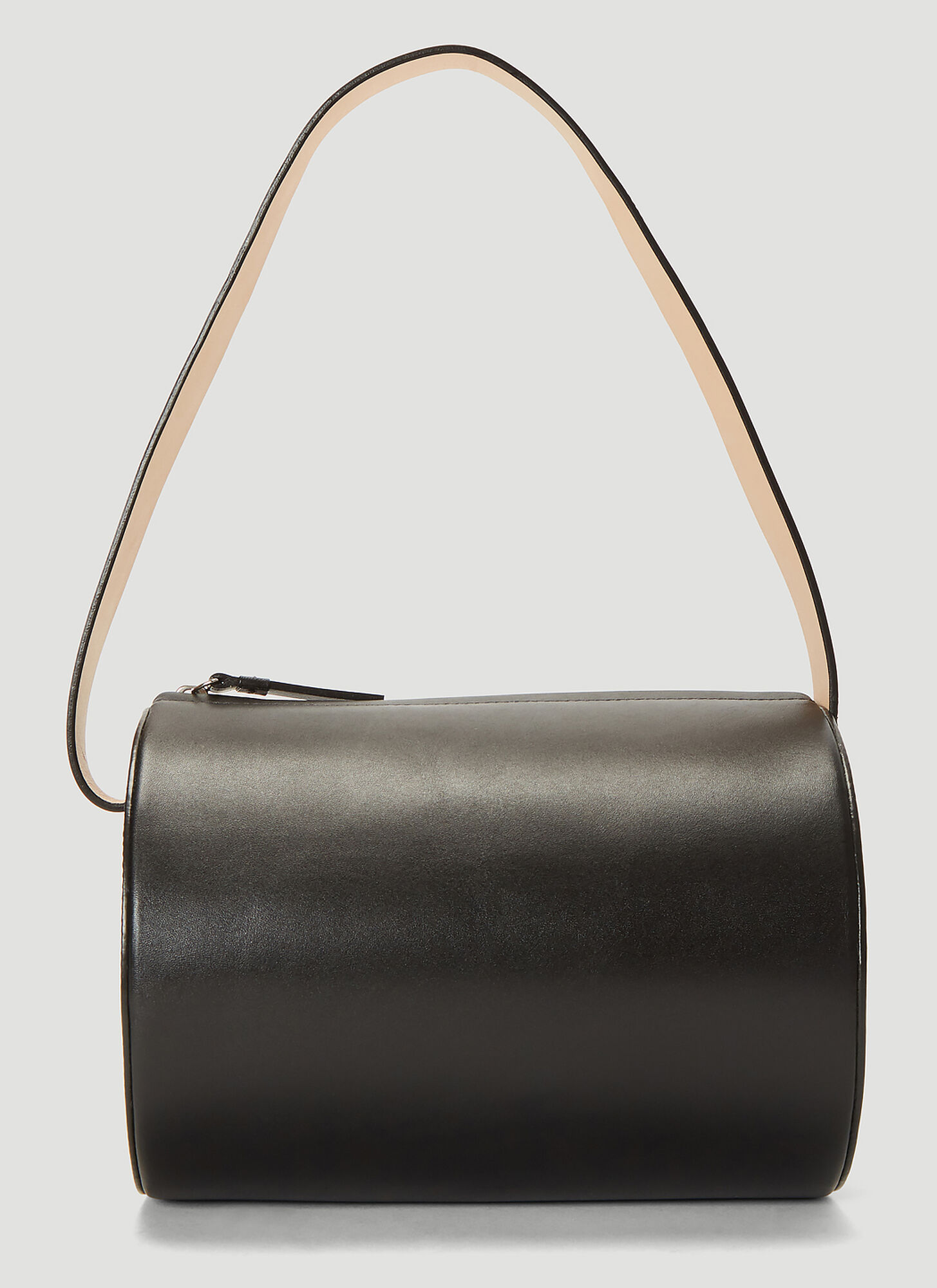 Building Block Barrel Bag in Black