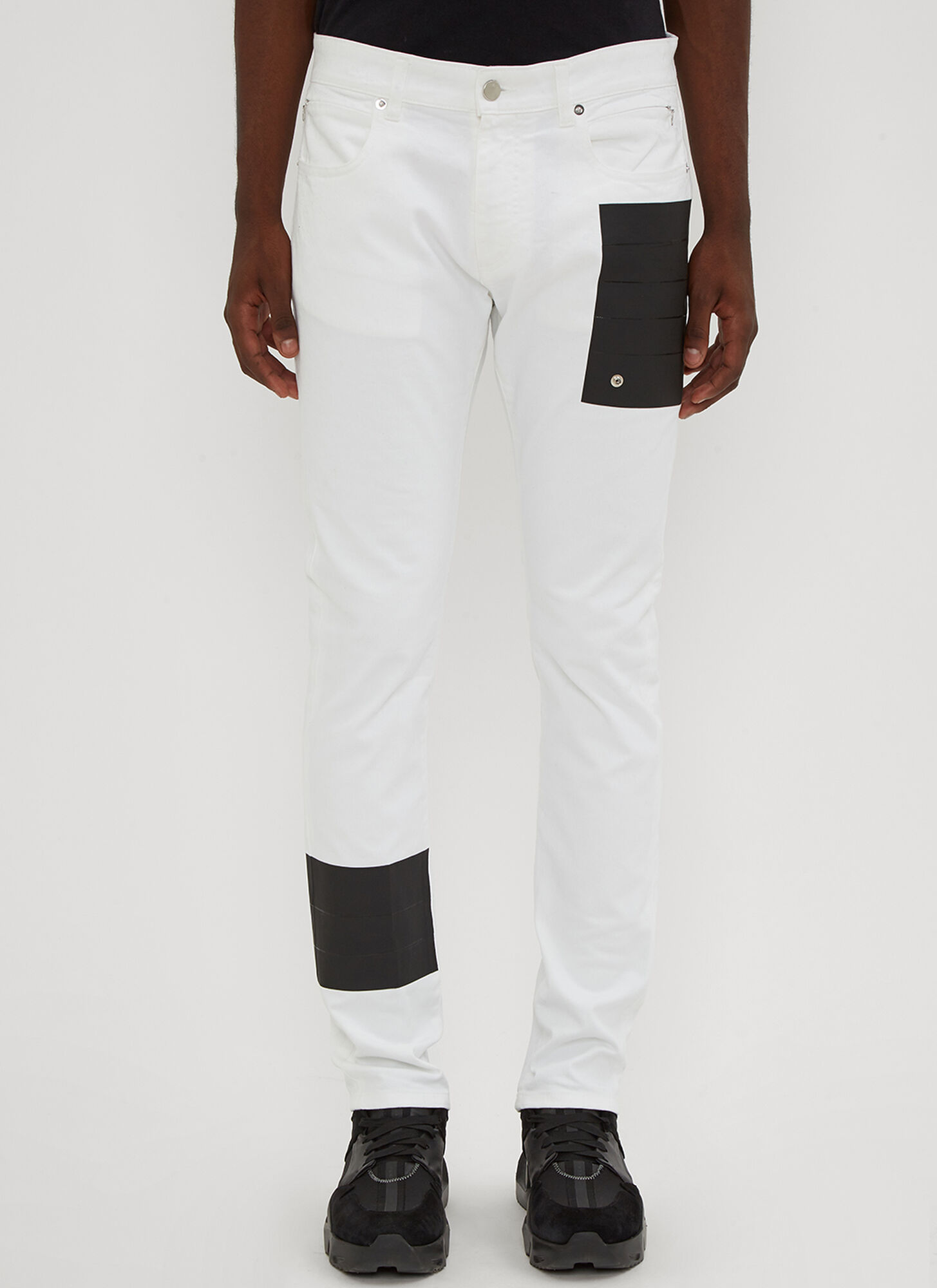 1017 ALYX 9SM Taped Jeans in White size 28