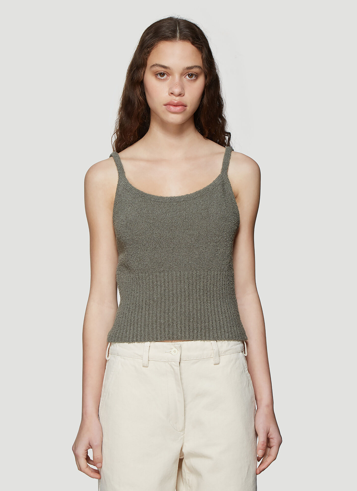 Our Legacy Peyote Sleeveless Top in Green
