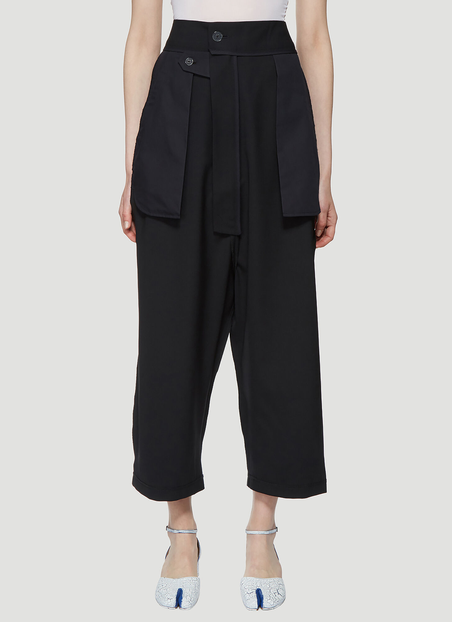Vaquera Inside Out Pants in Black