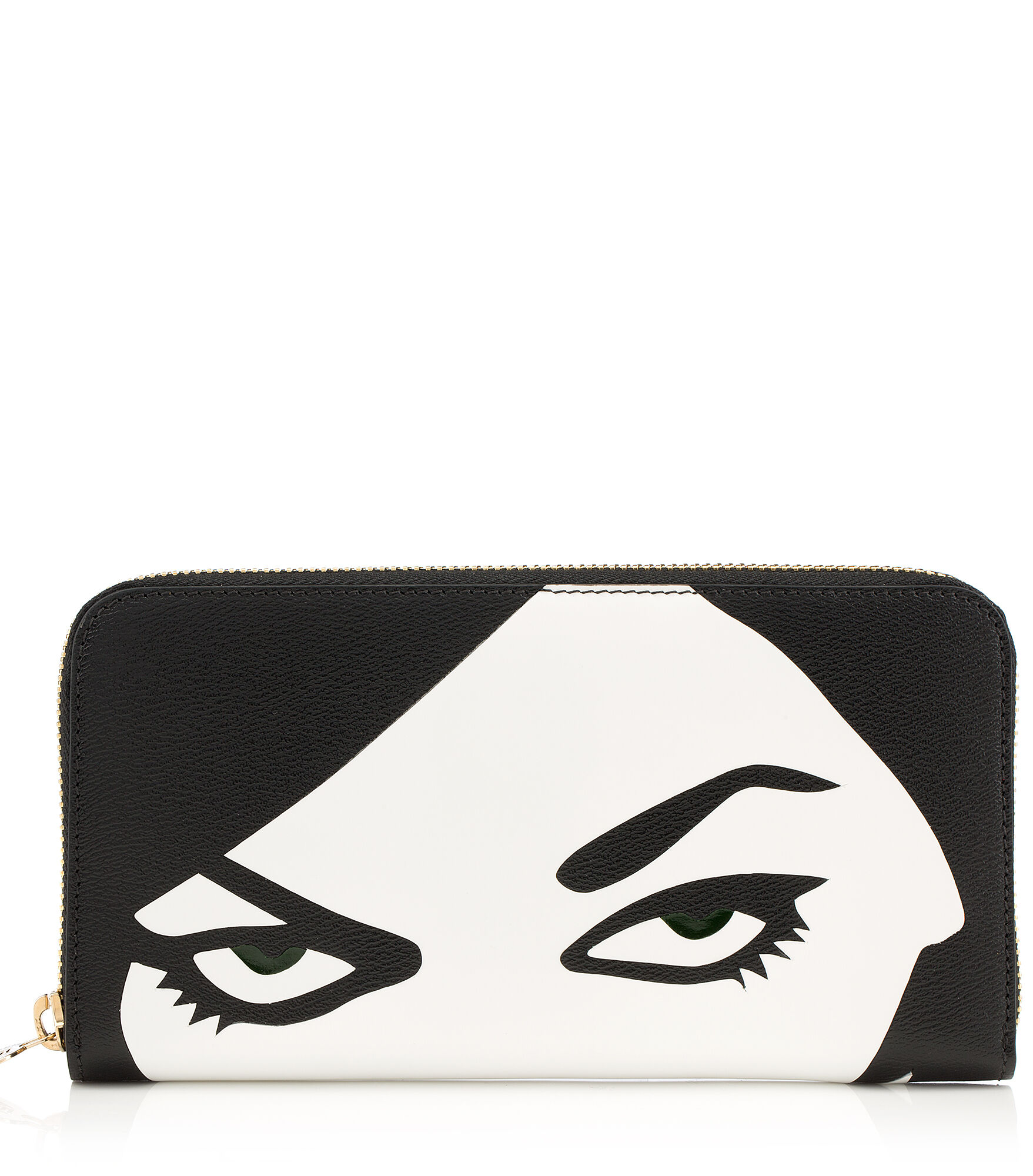 Charlotte Olympia Small Leather Goods Women - ZIP WALLET BLACK Grained Calfskin OS